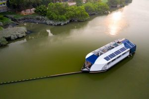 Read more about the article It's a plastic-guzzling river barge